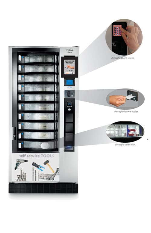 Distributore automatico utensili da lavoro Forteam