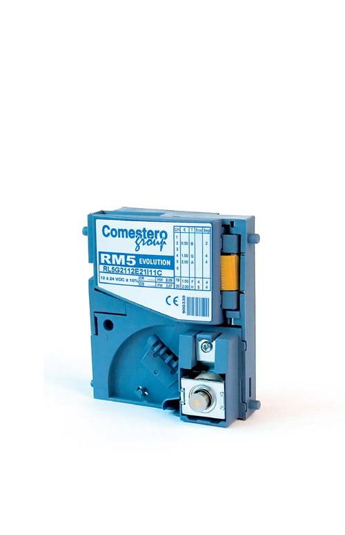RM5 Evolution, gettoniera elettronica Comestero