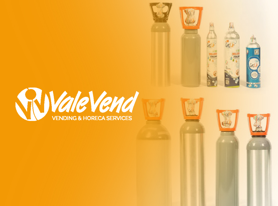 valevend bombole CO2