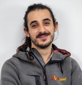 Damiano Tempesta, magazziniere Valevend Srl