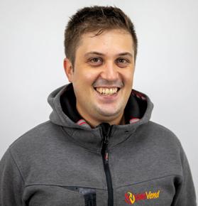 Luca Paroncini, Responsabile magazzino Valevend Srl