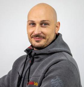 Matteo Canale, tecnico Valevend Srl