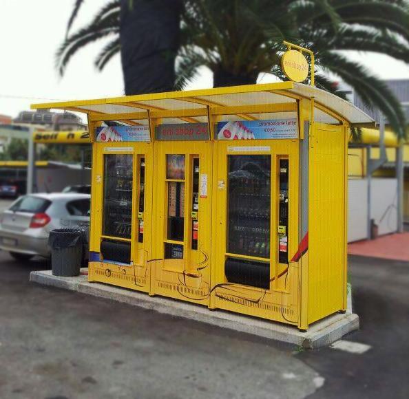 chiosco automatico roma valevend