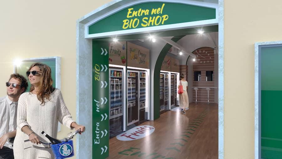 negozio automatico roma