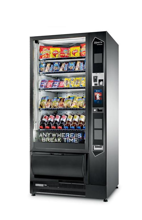 necta orchestra touch distributore automatico refrigerato