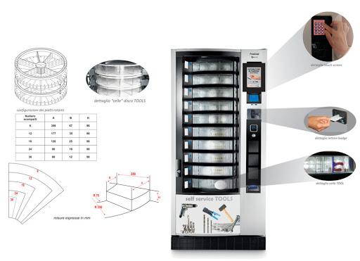 distributore automatico for-tool necta