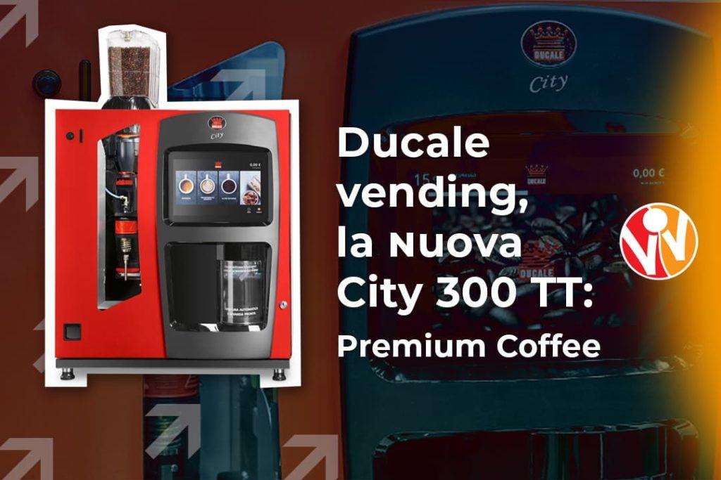 Ducale vending city 300 TT distributore automatico bevande calde