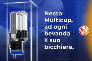 necta multicup sistema multi bicchiere per il distributore automatico