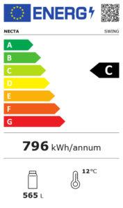 Etichetta energetica classe C distributori automatici