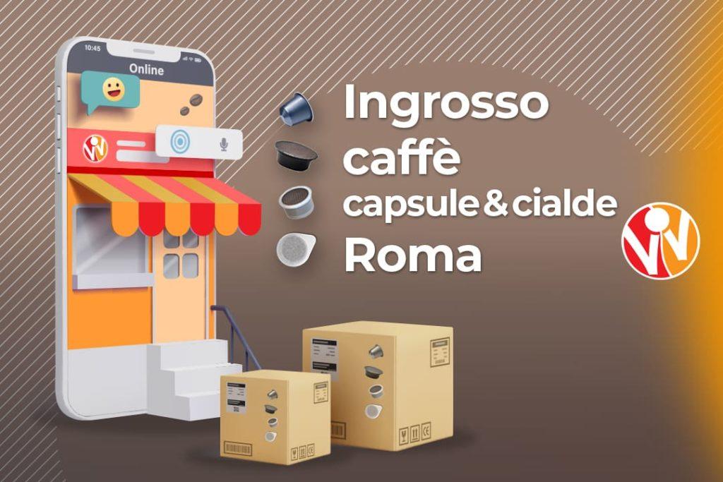 ingrosso capsule caffè roma