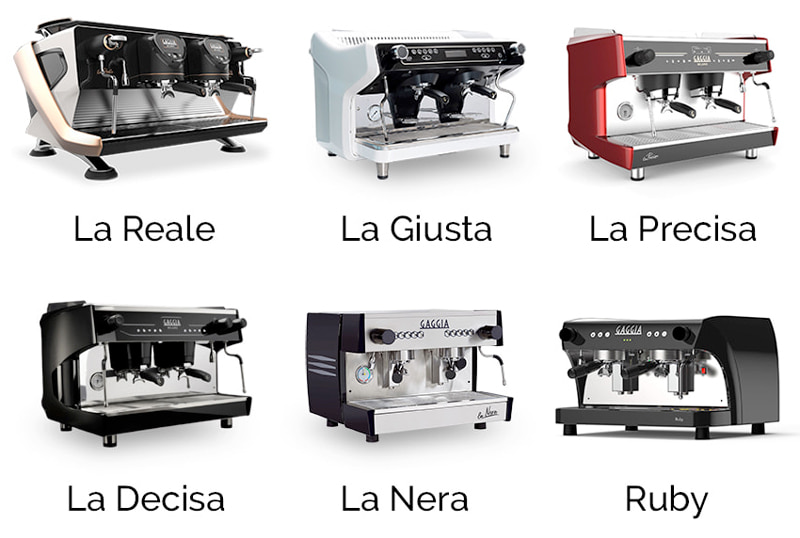 gaggia milano gamma macchine caffè